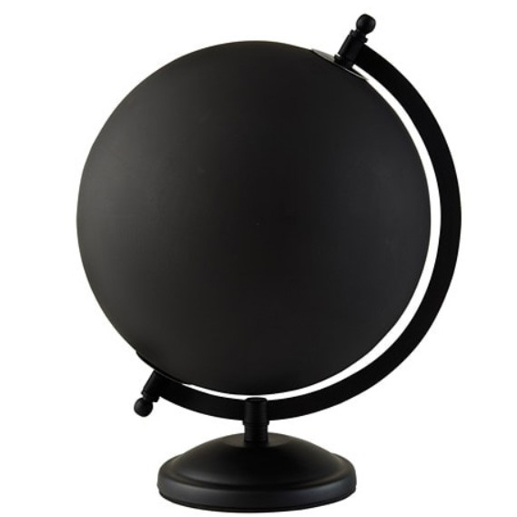 Black Globe from Ikea